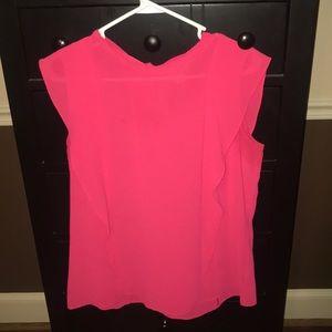 Beautiful Pink Sleeveless Blouse